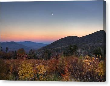 Mountain Twilight Canvas Print by Jim Neumann