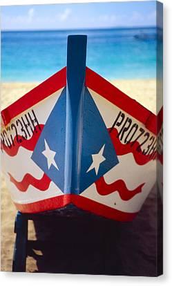 Puerto Rican Fishing Boat Canvas Print
