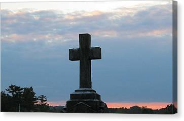 Remembrance At Sunset Canvas Print