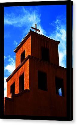 Canvas Print featuring the photograph  Santuario De Guadalupe by Susanne Still