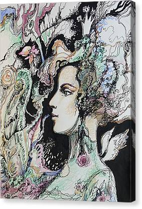 Selfportrait Canvas Print
