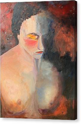 Serenity Canvas Print by Rosemarie Hakim