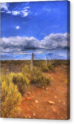 The Forgotten Fence Canvas Print