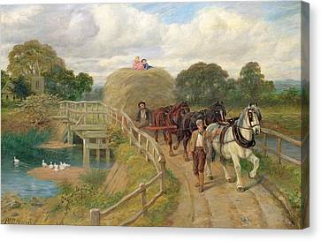 The Last Load  Canvas Print by Philip Richard Morris
