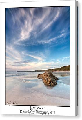 Welsh Coast - Porth Colmon Canvas Print