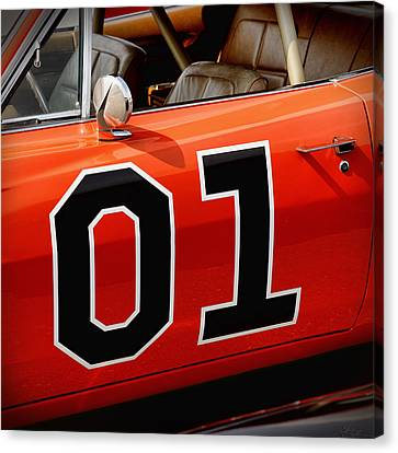 01 - The General Lee 1969 Dodge Charger Canvas Print by Gordon Dean II