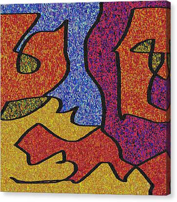 0664 Abstract Thought Canvas Print by Chowdary V Arikatla
