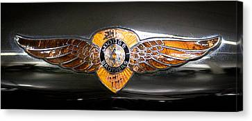 1933 Dodge Dp Rs 2 Door Coupe Canvas Print by David Patterson