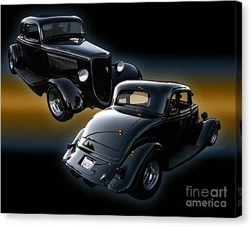 1934 Ford Coupe Canvas Print by Peter Piatt