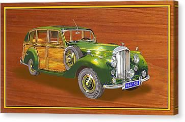 1947 Bentley Shooting Brake Canvas Print by Jack Pumphrey