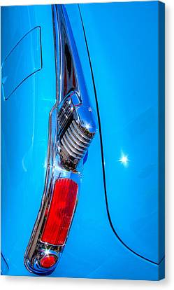 1950 Oldsmobile 88 Deluxe Holiday Coupe Canvas Print by David Patterson