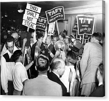 1952 Republican National Convention Canvas Print by Everett