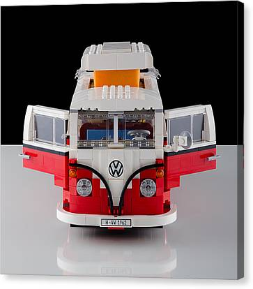 1962 Vw Lego Bus Canvas Print