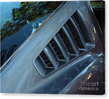 1965 Ford Mustang  Canvas Print by Peter Piatt