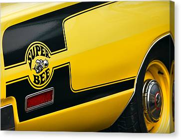 Canvas Print featuring the photograph 1970 Dodge Coronet Super Bee by Gordon Dean II