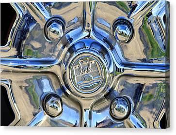 1970 Volkswagen Vw Karmann Ghia Wheel Canvas Print by Jill Reger