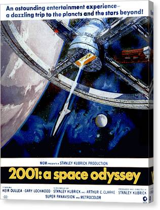 2001 A Space Odyssey, 1968 Canvas Print by Everett