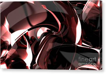 3d Abstract Background Canvas Print by Rattanapon Muanpimthong