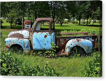 '48 Chevy Canvas Print by Paul Mashburn