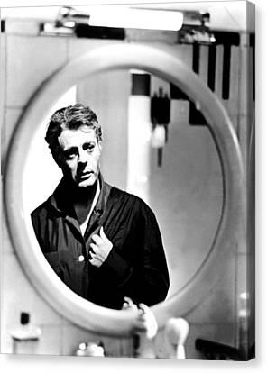 1963 Movies Canvas Print - 8 12, Marcello Mastroianni, 1963 by Everett