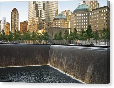 911 Memorial Park Canvas Print by Andrew Kazmierski