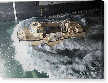 A Lighter Amphibious Re-supply Cargo Canvas Print by Stocktrek Images