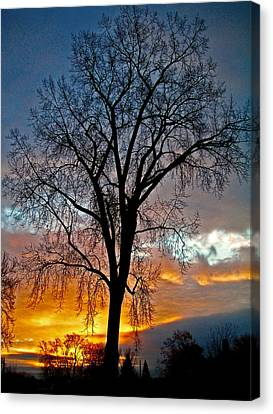 A New Day Begins ... Canvas Print by Juergen Weiss