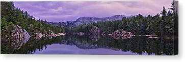 A Y Jackson Lake Canvas Print by Ken Bennison