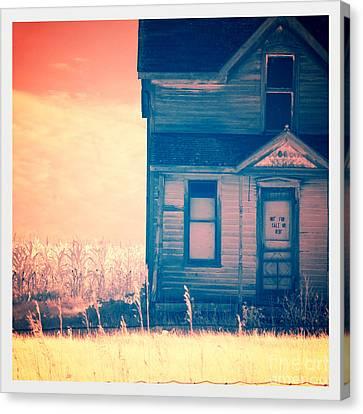 Abandoned House Canvas Print by Jill Battaglia