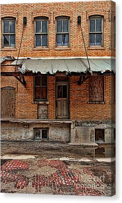 Abandoned Warehouse Canvas Print by Jill Battaglia