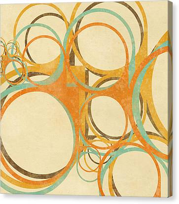 Abstract Circle Canvas Print by Setsiri Silapasuwanchai