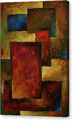 Abstract Canvas Print by Michael Lang