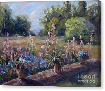 Across The Meadow Canvas Print by B Rossitto