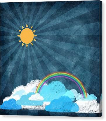 After Rainy Canvas Print by Setsiri Silapasuwanchai