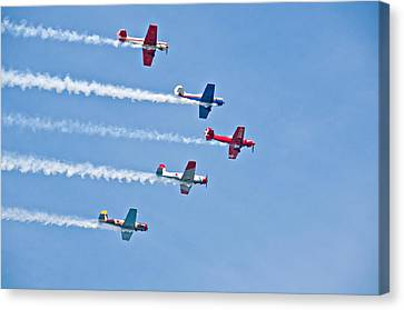 Air Show Canvas Print