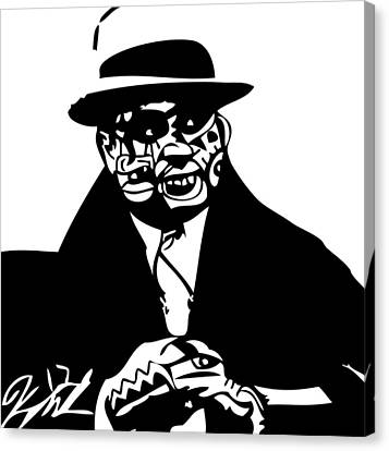 Al Capone Canvas Print by Kamoni Khem