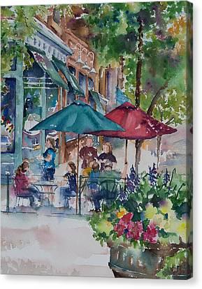 Al Fresco Canvas Print by Amy Caltry