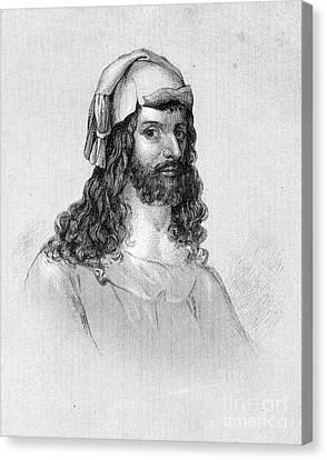Albrecht D�rer (1471-1528) Canvas Print by Granger