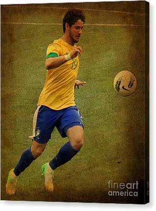 Alexandre Pato II Canvas Print by Lee Dos Santos