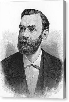 Alfred Nobel, Swedish Chemist Canvas Print by Science Source