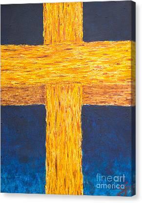 Amazing Grace 2 Canvas Print by Scott Gearheart