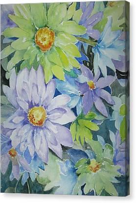 Amy's Bouquet Canvas Print
