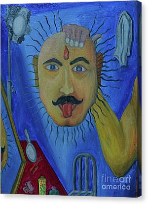 Jiss Joseph Canvas Print - An Actor And Charector by Jiss Joseph