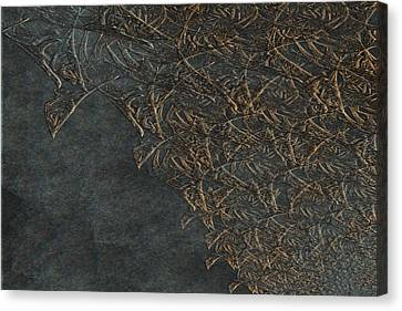 Ancient Fossils Canvas Print by Christopher Gaston