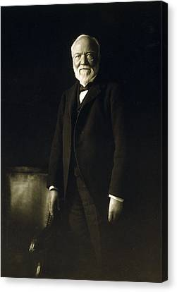 Andrew Carnegie, April 5, 1913 Canvas Print by Everett
