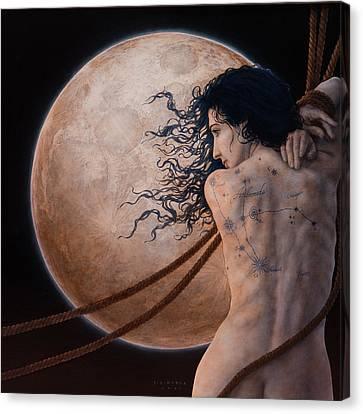 Andromeda Canvas Print by Jose Luis Munoz Luque