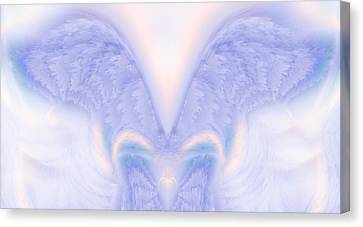 Angel Wings Canvas Print by Christopher Gaston