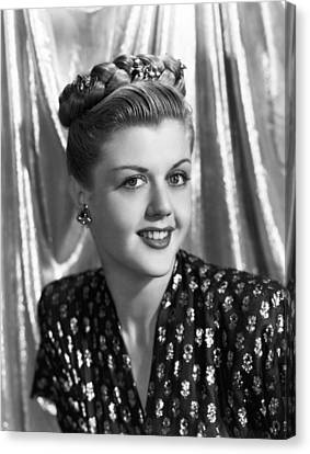 Angela Lansbury, 1945 Canvas Print by Everett