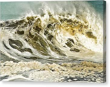 Angry Sea 3 Canvas Print