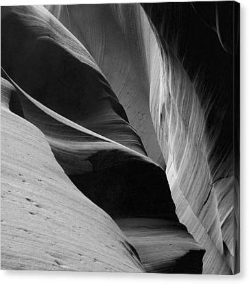 Canvas Print featuring the photograph Antelope Canyon Sandstone Abstract by Mike Irwin